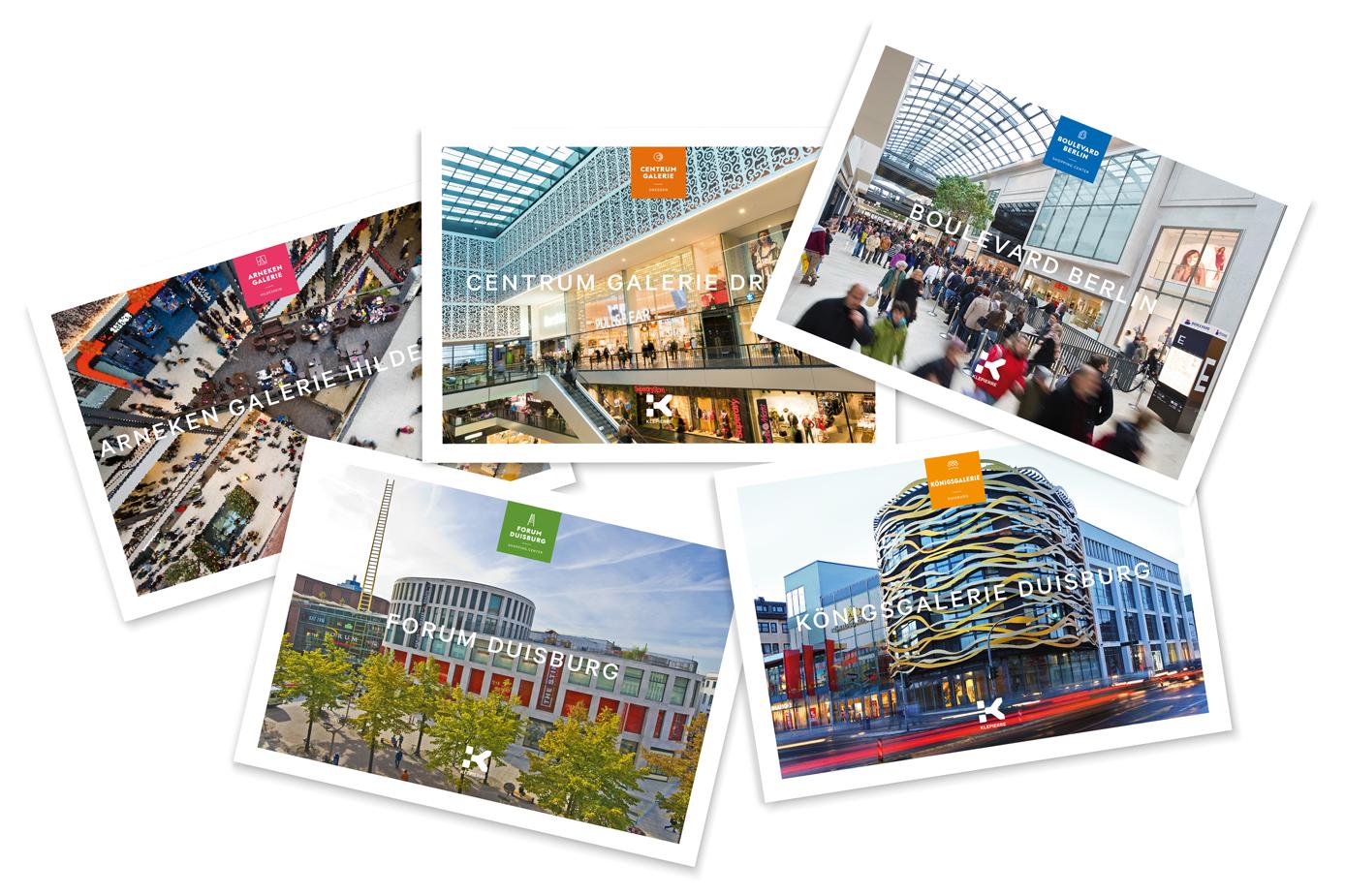 Klepierre vertraut bei der Konzeption und Gestaltung auf die Agentur Cantaloop aus Duisburg