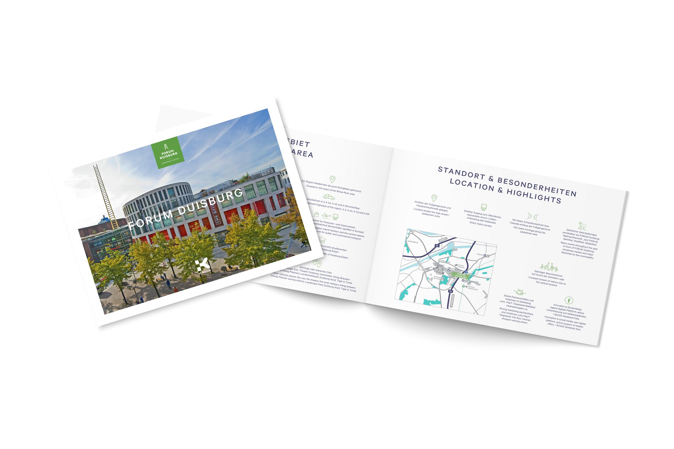 Das Shoppingcenter Forum Duisburg vertraut auf die Expertise der Full Service Agentur Cantaloop